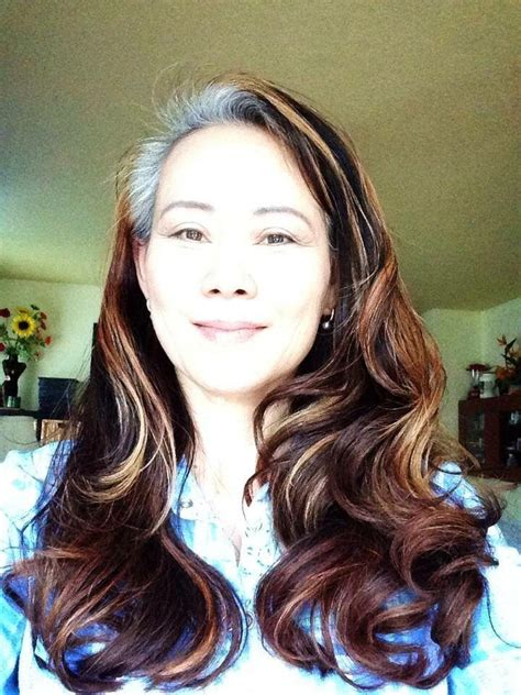 japanesse women with grey hair 459 best images about growing out gray discovering