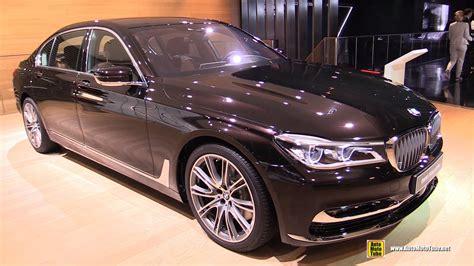 bmw 750i vs 750li 2016 bmw 7 series 750li xdrive exterior and interior