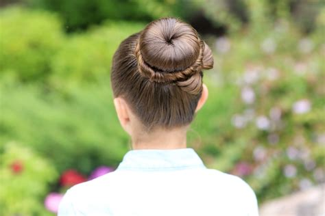 girl hairstyles bun the perfect bow bun updo cute girls hairstyles
