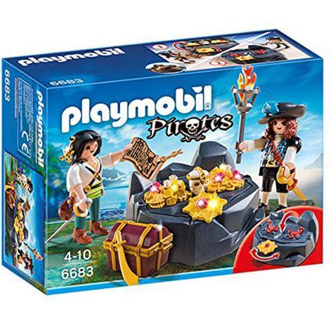 Figure Model Kit Playmobil Pirate Treasure Hideout playmobil pirate treasure hideout playset amazing toys