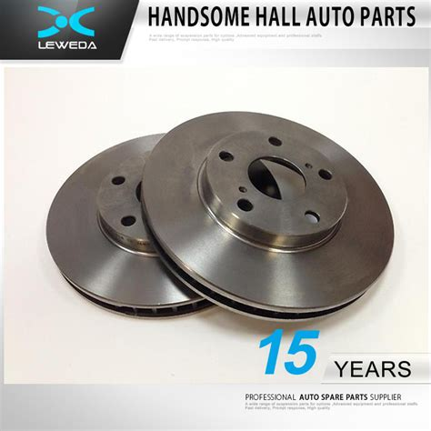 auto brake parts auto brake systems spare parts front brake disc car disc