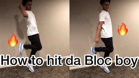 blocboy jb doing shoot dance how to do the bloc boy jb shoot dance youtube