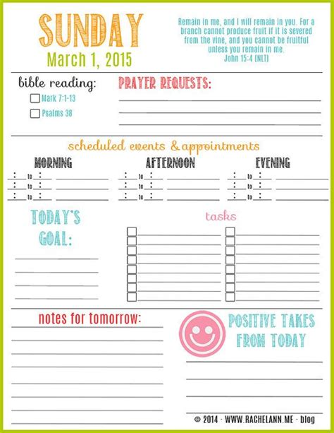 printable daily calendar march 2015 these are printable planner pages for the month of march