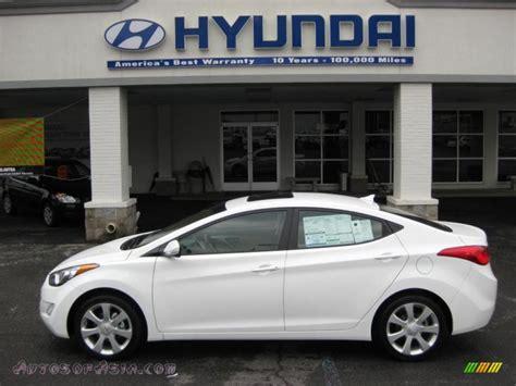 2011 Hyundai Elantra Limited For Sale by 2011 Hyundai Elantra Limited In Pearl White 007375