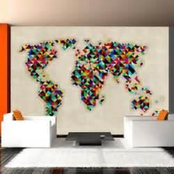 papier peint carte du monde achat vente papier peint