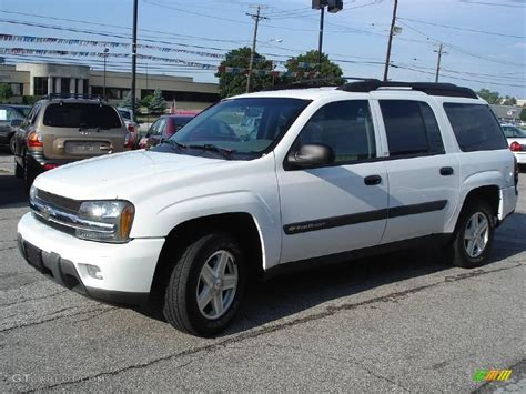 chevrolet trailblazer white 2003 summit white chevrolet trailblazer ext ls 15875457