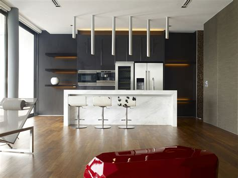 home decor modern concept of the ideal kitchen decorating for minimalist