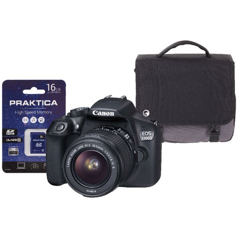 Memory Kamera Slr canon eos 1300d slr with 16gb memory card and