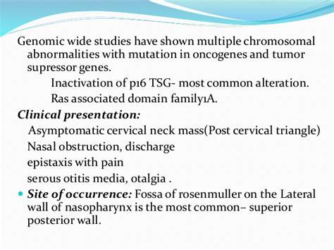 Jasper Cervical Collar Jas Scc tumors tumor like conditions of nasal cavity
