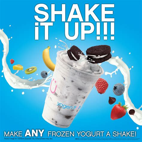 how to a to shake shake it up yogen fr 252 z frozen yogurt smoothies