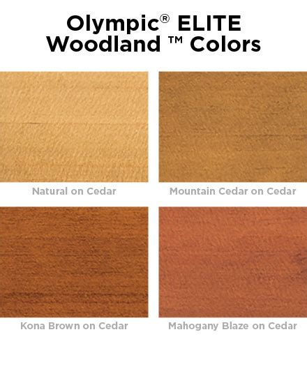 stain colors lowes olympic 174 elite woodland