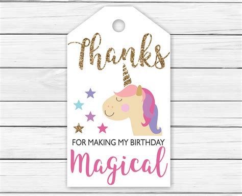 printable unicorn thank you tags unicorn thank you tags printable printable unicorn thank