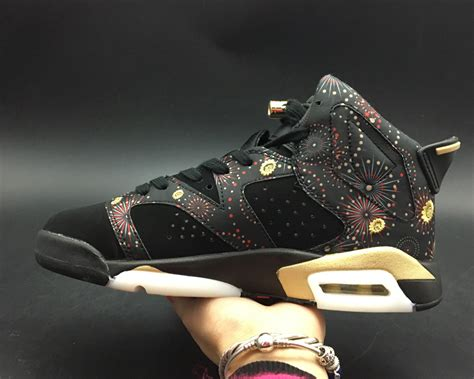 new year air 1 for sale air 6 new year black multi color