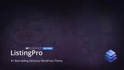 themeforest listingpro listingpro review top selling wordpress directory theme