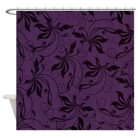 black and purple shower curtain deep purple black swirl shower curtain by admin cp133666635