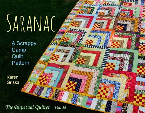 New Quilt Designs by Selvage New Quilt Pattern Saranac