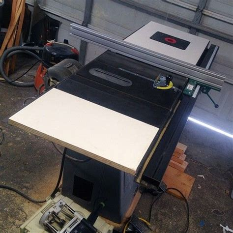 table saw router combo table saw and router table combo plans woodworking