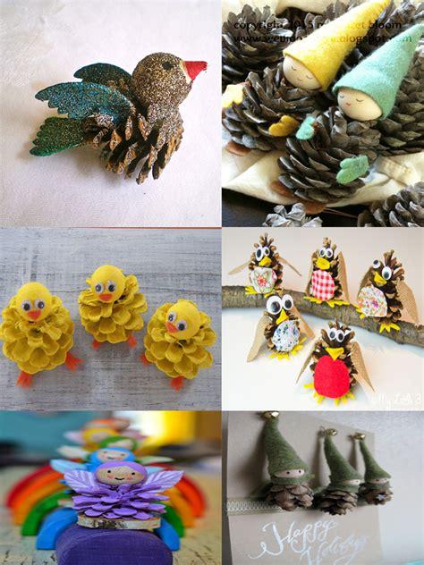diy pinecone crafts 40 easy and diy pine cone crafts moco choco