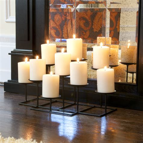Candle Fireplace Inserts by 9 Candle