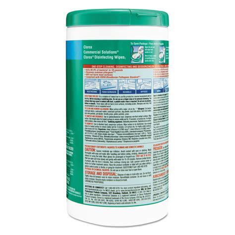 disinfecting wipes  clorox cloct ontimesuppliescom