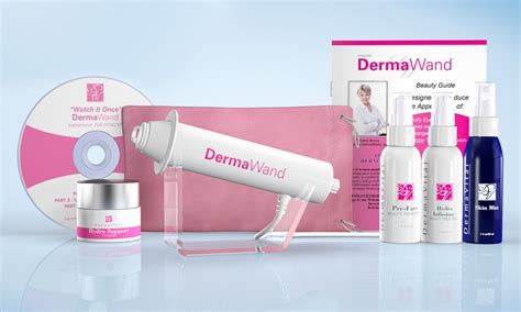 Dermawand Diskon dermawand kit with four creams groupon goods