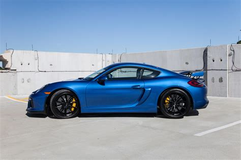porsche cayman blue 2016 cayman gt4 sapphire blue pccb and buckets rennlist