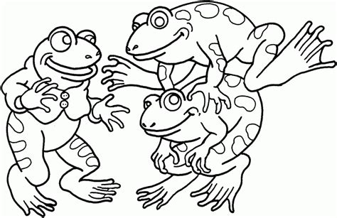 leap frog coloring pages vector of a cartoon super frog