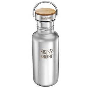 Stainless steel classic reflect water bottle by klean kanteen the