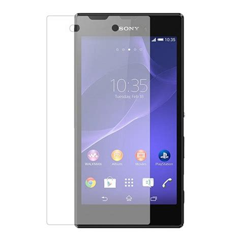 premium real tempered glass screen protector sony xperia e3 d2202 30207 vegacom