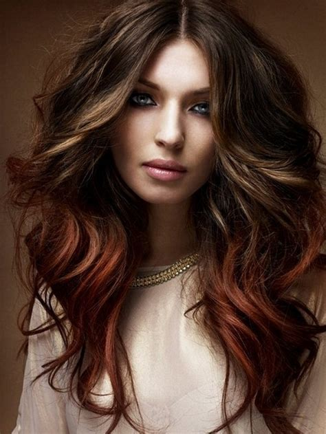 color hairstyles for brunettes latest hair color trends for brunettes 2018 in summer