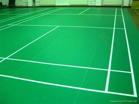 pvc/vinyl sports floor for badminton court   yc   YICHEN