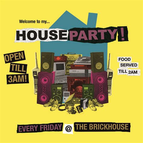 House Party Flyer Postinghigh Design 169