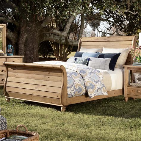 Sleigh Bed Headboard by Homecoming King Sleigh Bed With Headboard And Footboard By