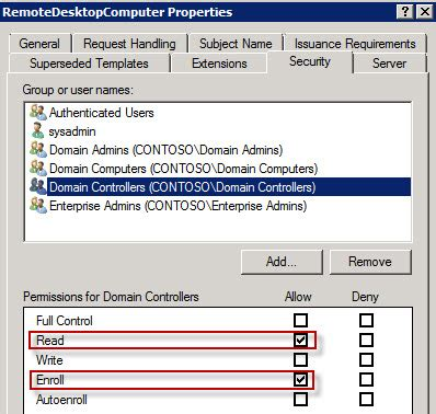 domain controller certificate template images templates