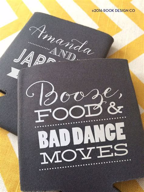 Wedding Gift Koozies by Best 25 Wedding Koozies Ideas On Personalized