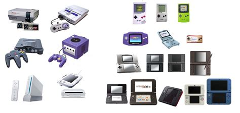 nintendo console all nintendo consoles images search
