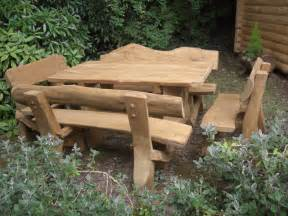 Patio Table With Bench Seating Outdoor Wooden Tables And Benches Ideas Outdoor Wooden Table Benches Outdoor Wooden Tables And