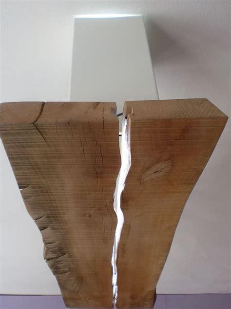 ladario led fai da te essenza la lada ricavata da un asse di legno