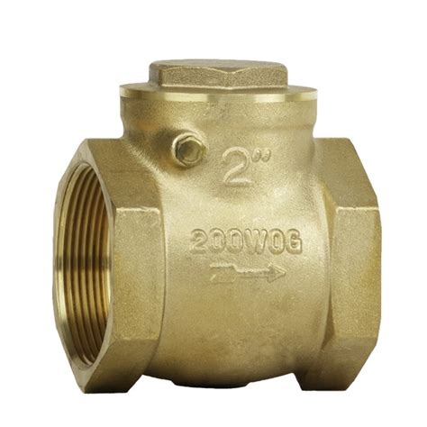 brass swing check valve 200 brass swing check valve c c industries inc