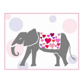 elephant valentines day cards zazzle