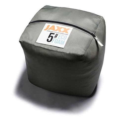 lasting bean bag filler jaxx premium grade shredded foam filling refill for