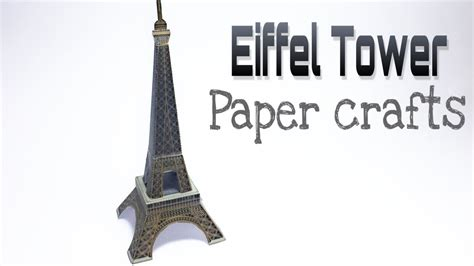 how to make a paper eiffel tower 28 images paper