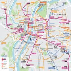 Lyon France Map by Lyon Map