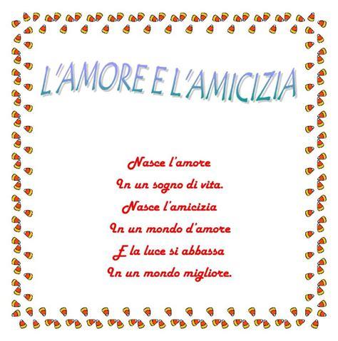 amicizia testo l e l amicizia letteratura e poesia italiana