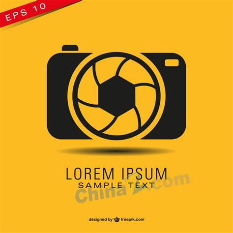 creative poster design vector creative camera poster design vector free vector graphic
