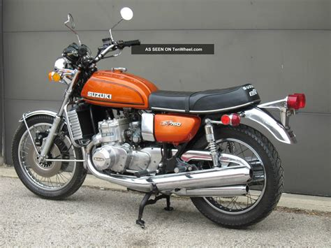 Suzuki Water Buffalo 1974 Suzuki Gt 750 Water Buffalo Condition Kettle