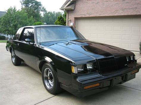 turbocharged buick find used 1987 buick regal turbo t we4 turbocharged 3 8l