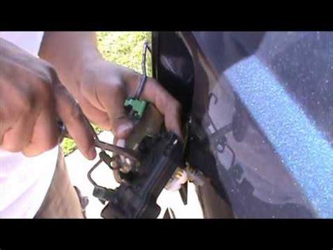 ford  power door lock actuator removal  repair