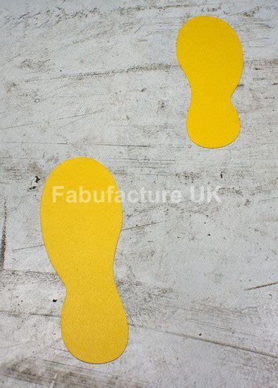 Floor Marking Floor Sticker Footprints (Qty 20) SKU 11679