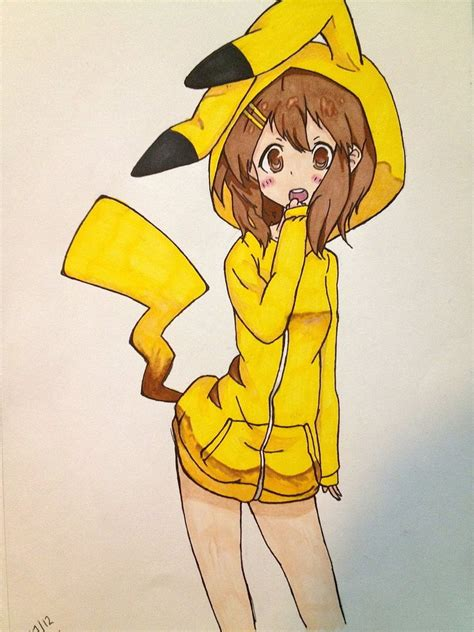 Hoodie Pika Pikachu 1 pikachu hoodie by mushoe135790 on deviantart
